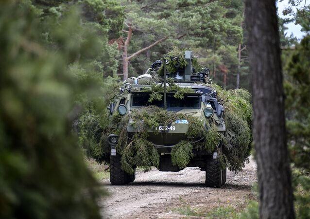 Fiński transporter opancerzony Patria.