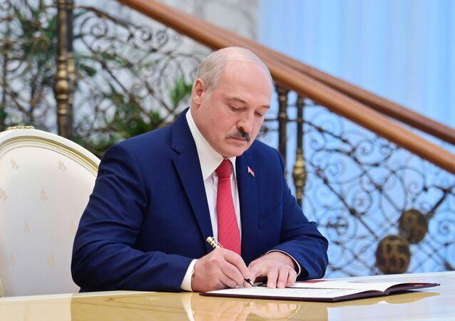 Prezydent Białorusi Aleksandr Łukaszenka.
