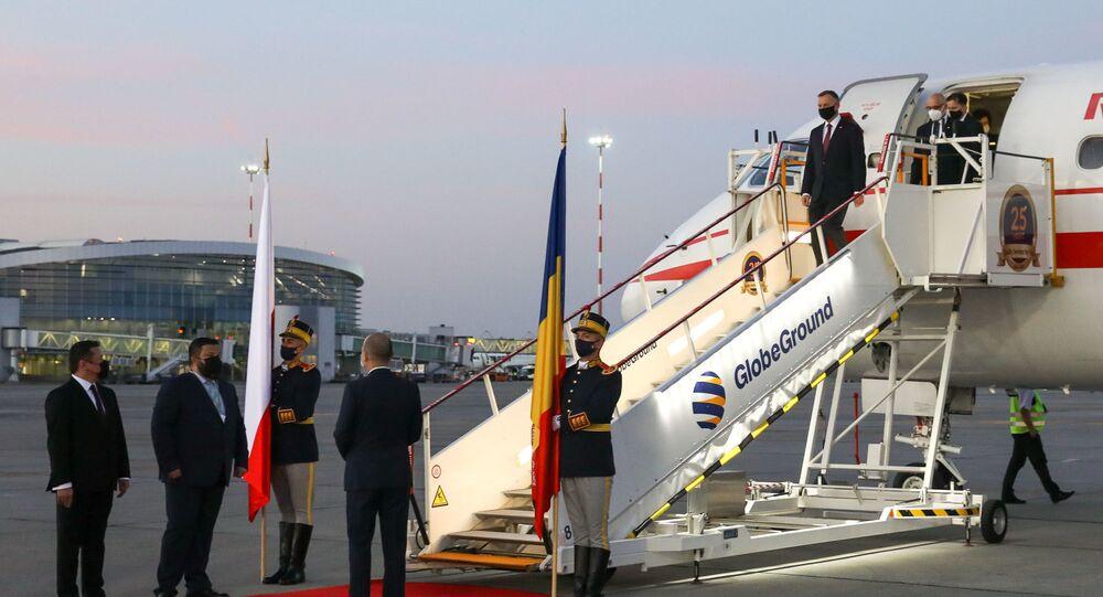 Prezydent Andrzej Duda z wizytą w Rumunii