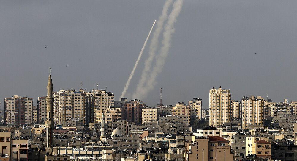Rakiety wystrzelone z miasta Gaza w kierunku Izraela