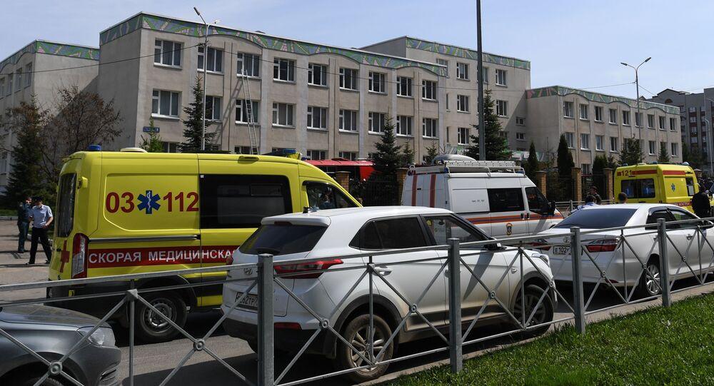 Strzelanina w szkole w Kazaniu