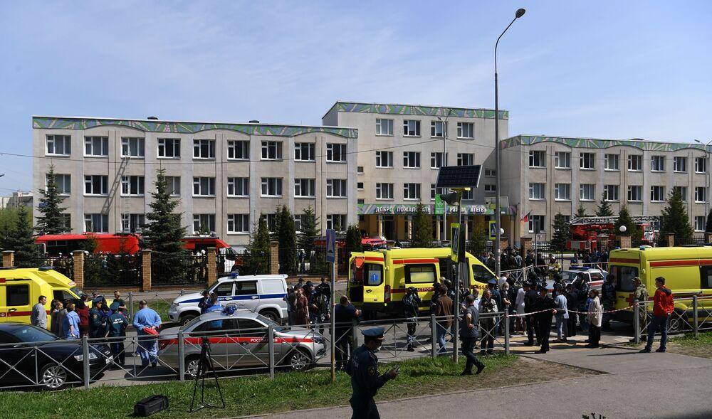 Atak na szkołę w Kazaniu