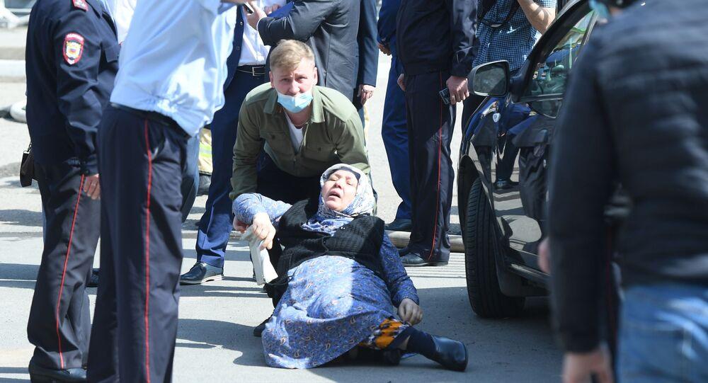 Sytuacja w Kazaniu po strzelaninie w szkole