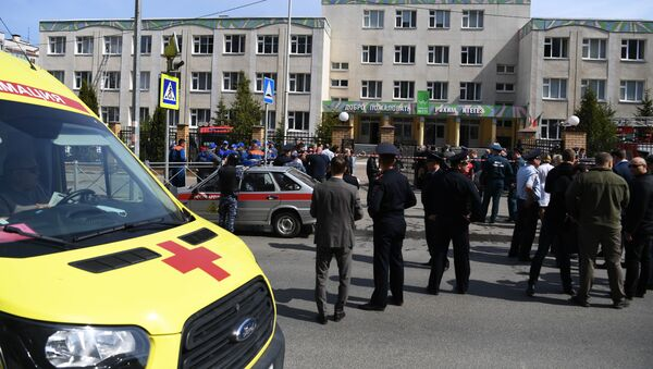 Atak na szkołę w Kazaniu - Sputnik Polska