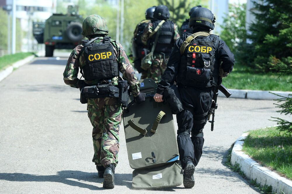 Atak na szkołę w Kazaniu.