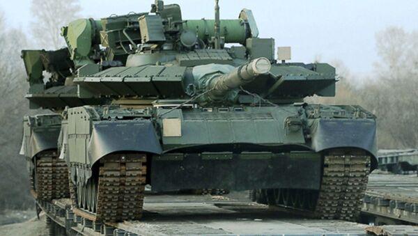 Rosyjski czołg T-80BWM - Sputnik Polska