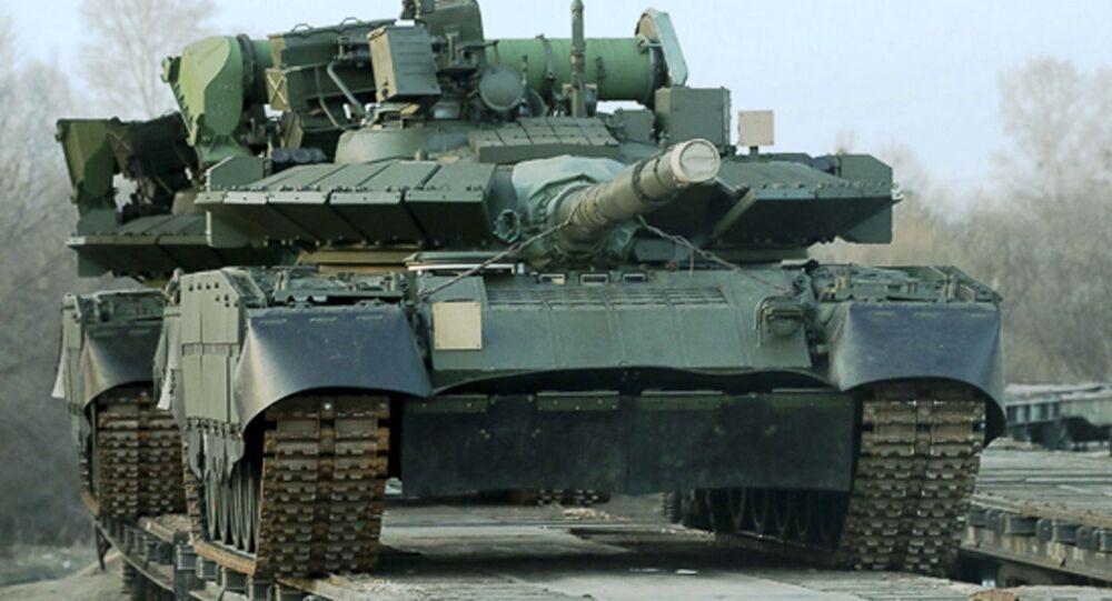 Rosyjski czołg T-80BWM