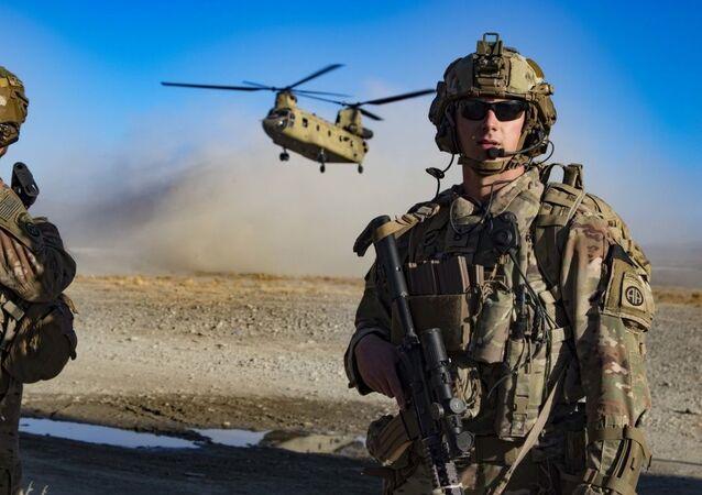 Wojsko USA w południowo-wschodnim Afganistanie