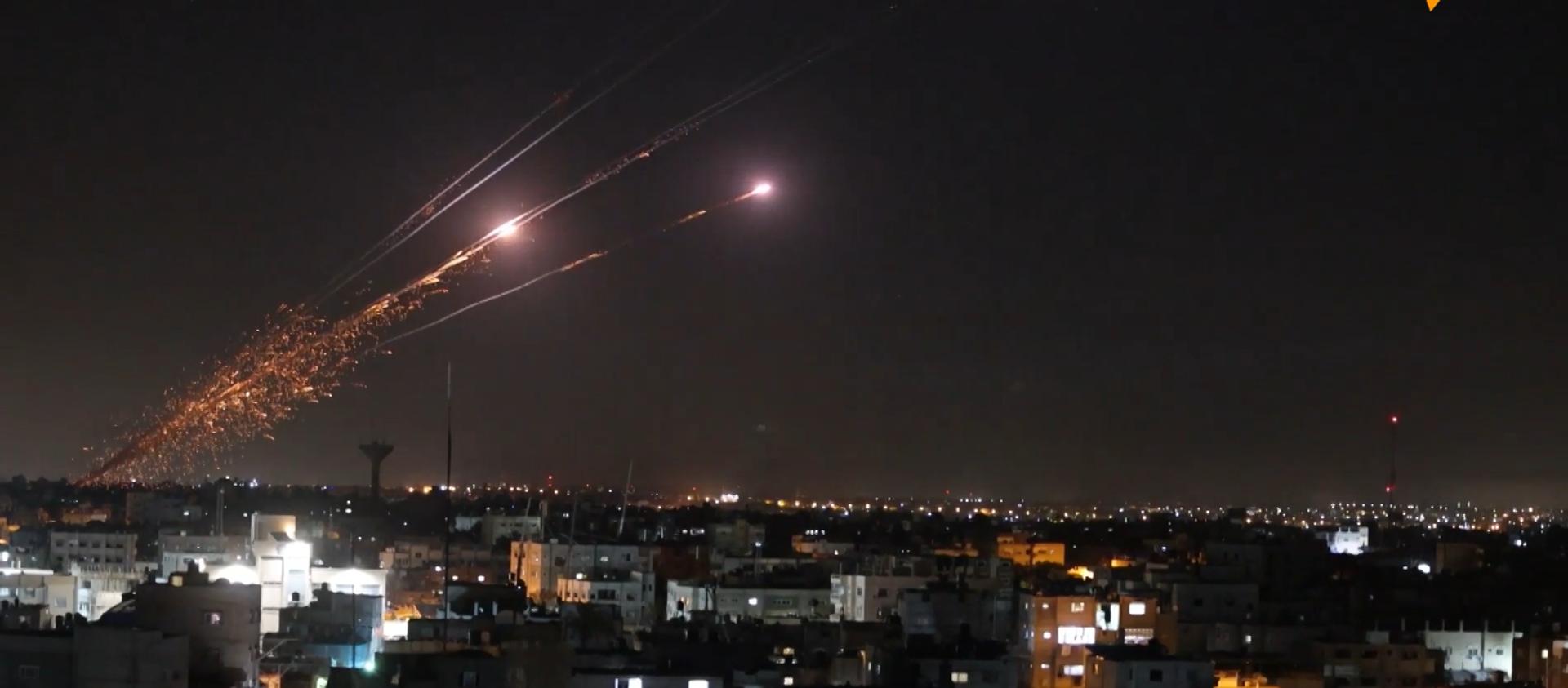 Atak rakietowy na Tel Aviv - Sputnik Polska, 1920, 12.05.2021