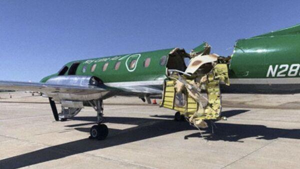 Dwa małe samoloty zderzyły się w powietrzu w pobliżu amerykańskiego miasta Denver - Sputnik Polska