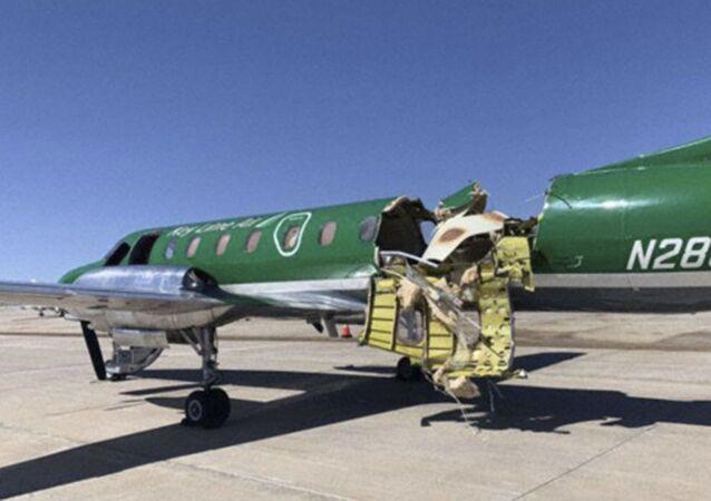 Dwa małe samoloty zderzyły się w powietrzu w pobliżu amerykańskiego miasta Denver