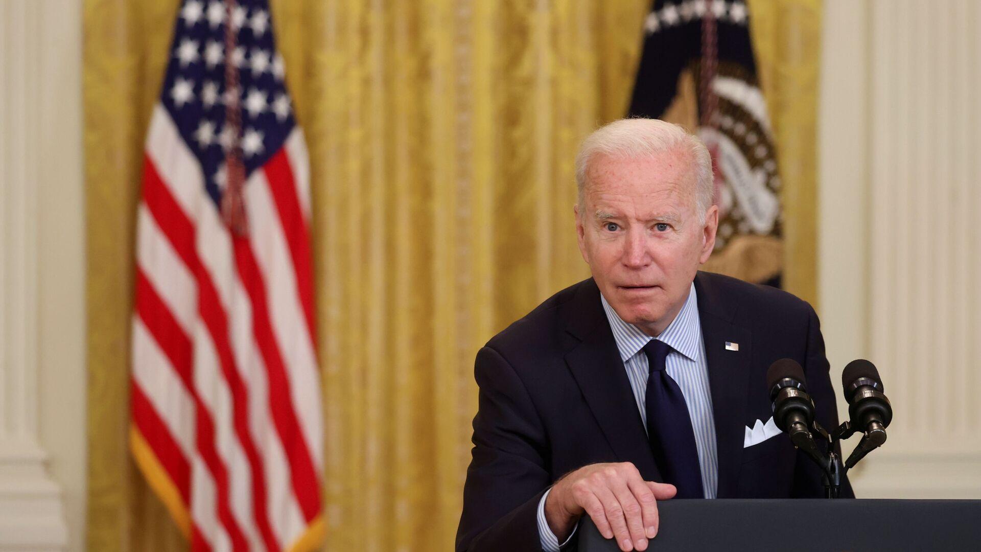 Prezydent Stanów Zjednoczonych Joe Biden - Sputnik Polska, 1920, 15.06.2021