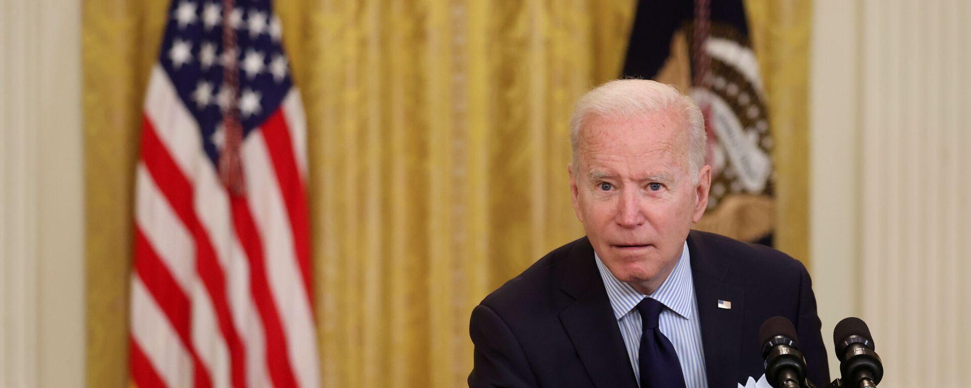 Prezydent Stanów Zjednoczonych Joe Biden - Sputnik Polska, 1920, 02.06.2021