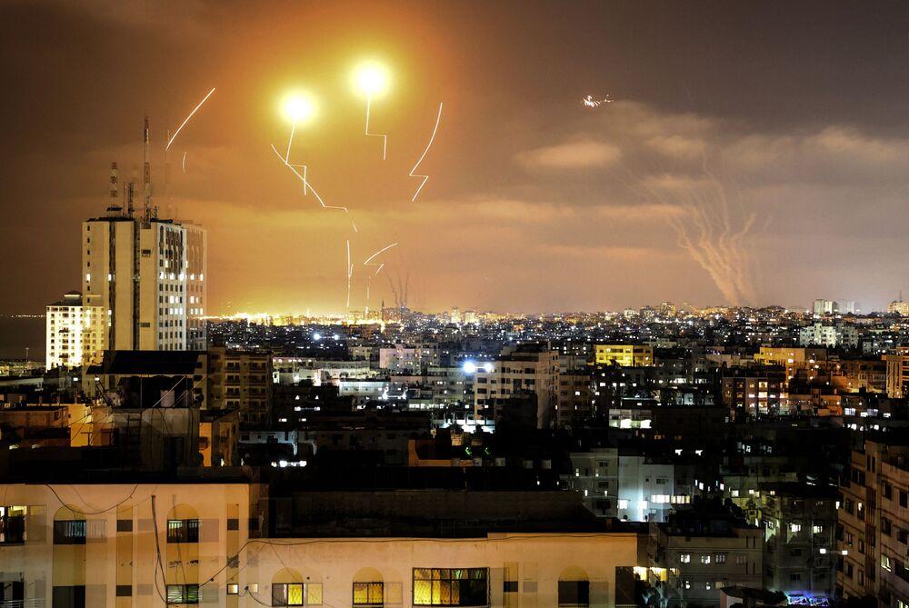 Rakiety wystrzelone w kierunku Izraela ze Strefy Gazy