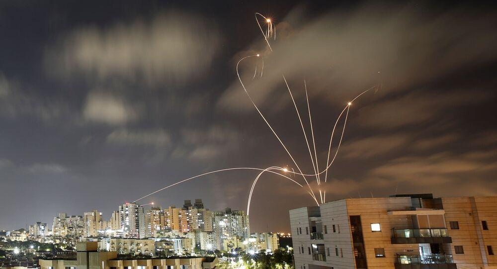 Nalot na Izrael ze Strefy Gazy