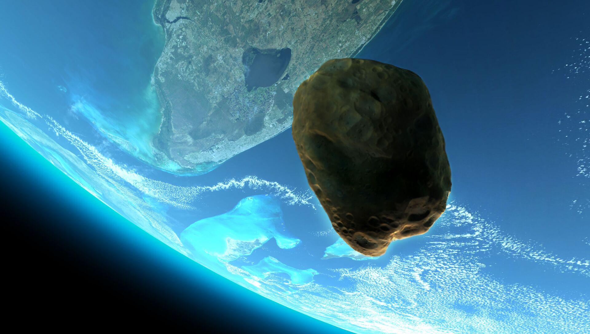 Duża asteroida 2015 KJ19 zbliży się do Ziemi 14 maja. - Sputnik Polska, 1920, 14.05.2021