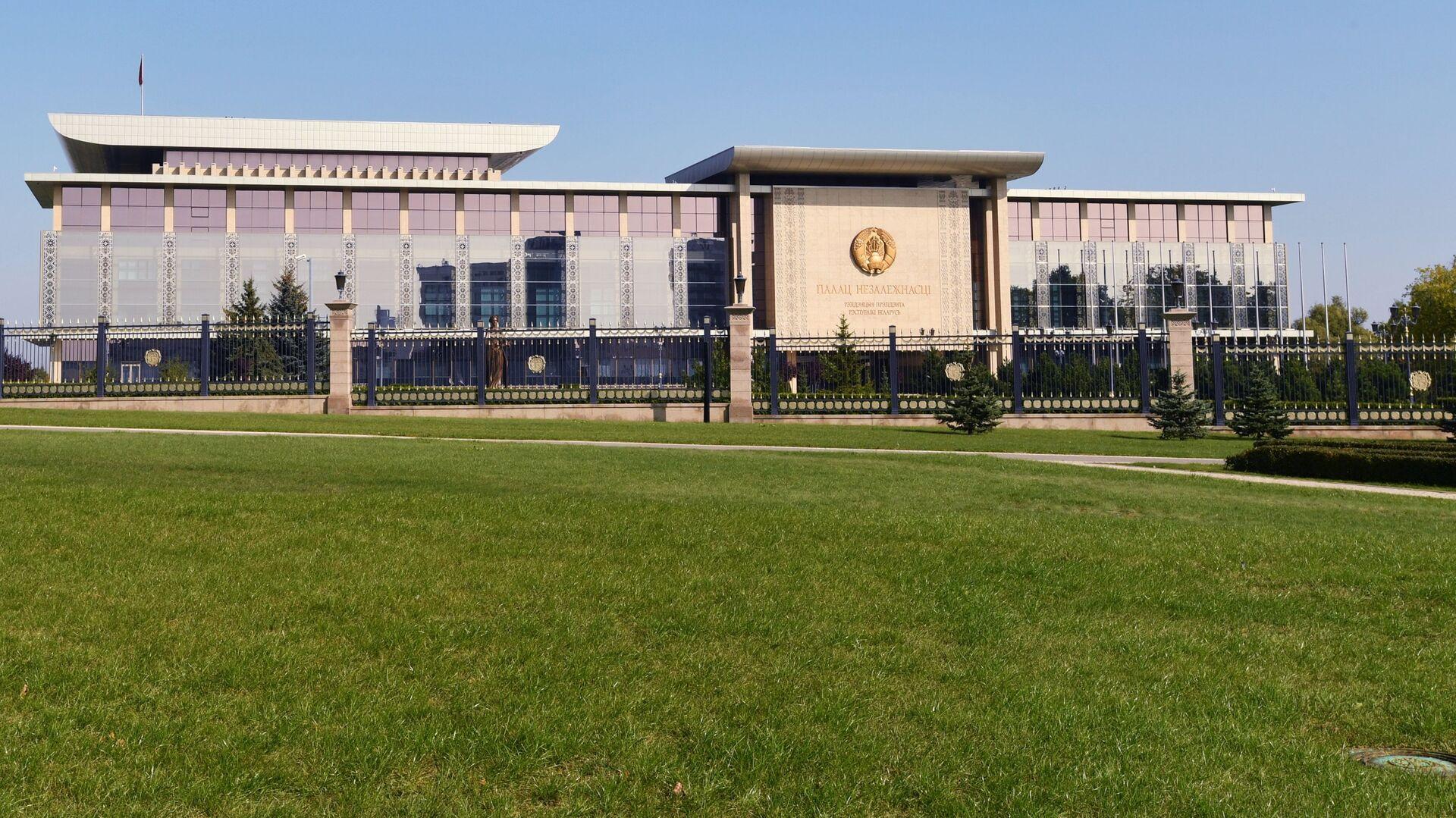 Pałac Niepodległości w Mińsku, Białoruś. - Sputnik Polska, 1920, 10.06.2021