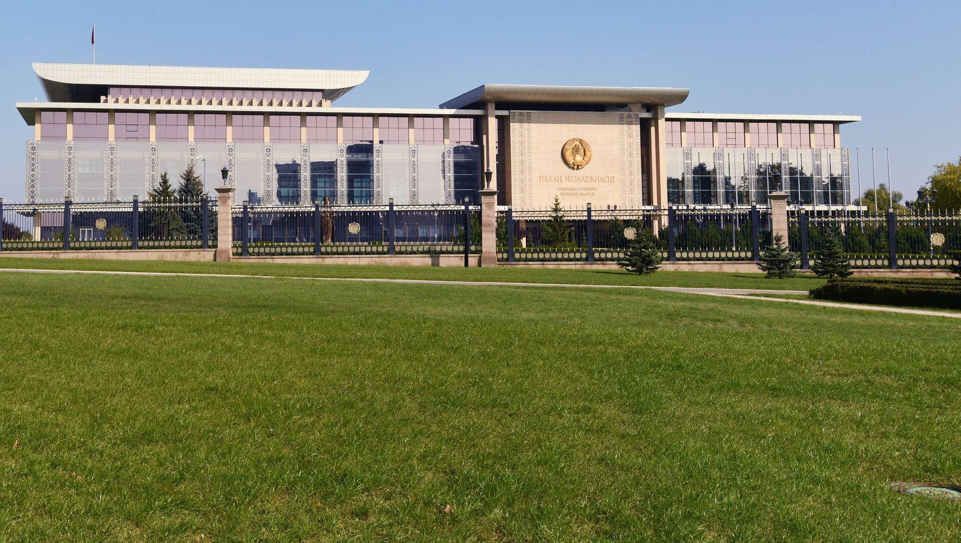 Pałac Niepodległości w Mińsku, Białoruś. - Sputnik Polska, 1920, 14.05.2021