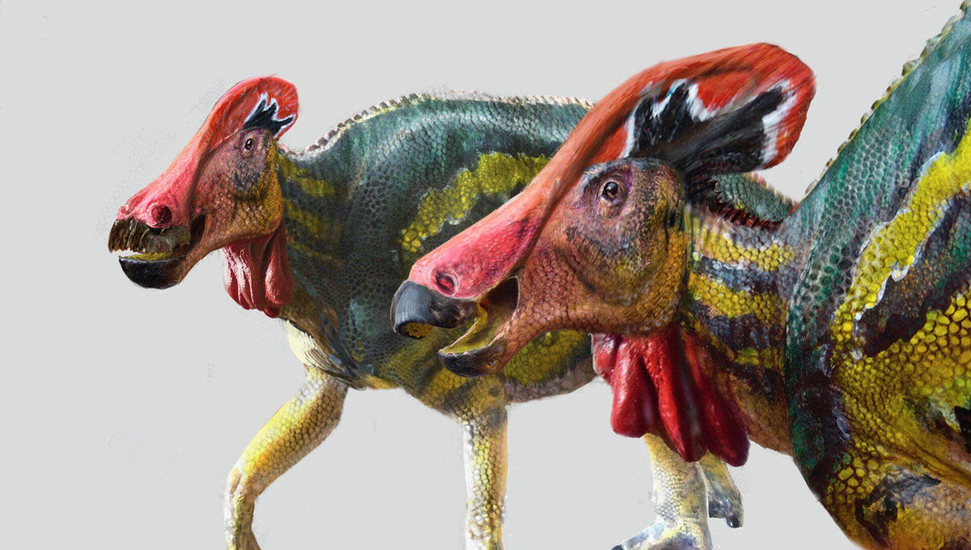 Dinozaur Tlatolophus galorum - Sputnik Polska, 1920, 15.05.2021