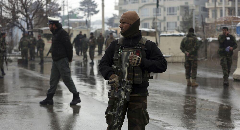 Żołnierze Afgańskiej Armii Narodowej.