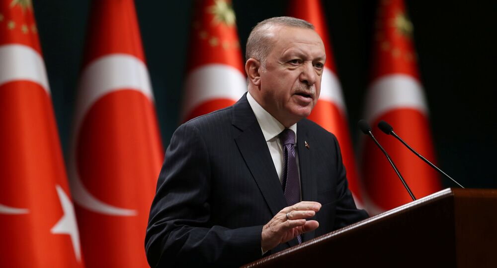 Prezydent Turcji Recep Tayyip Erdoğan.