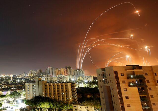 Izraelski system obrony powietrznej Żelazna Kopuła.