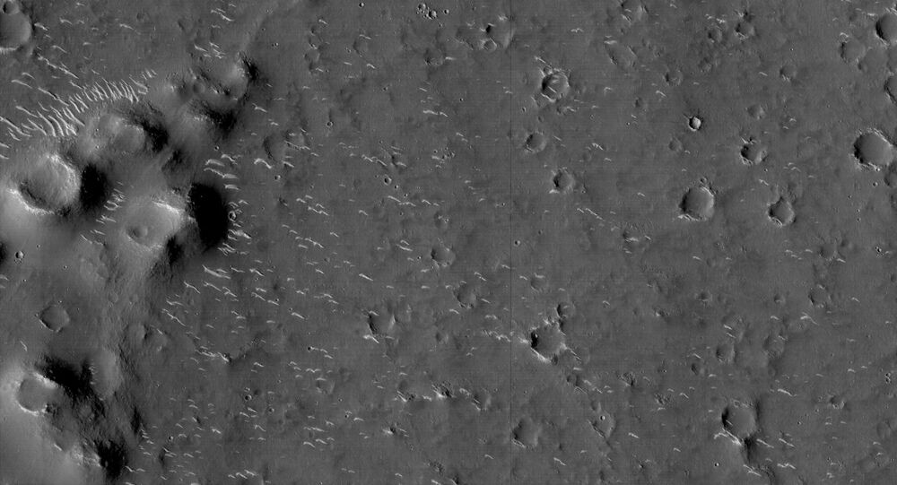 Chińska sonda Tianwen-1 z łazikiem o nazwie Zhurong wylądowała na powierzchni Marsa.