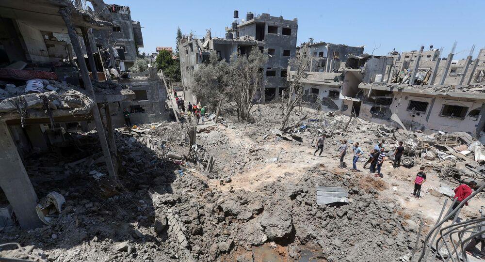 Izraelsko-palestyński konflikt.