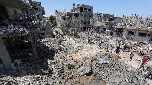 Izraelsko-palestyński konflikt. - Sputnik Polska
