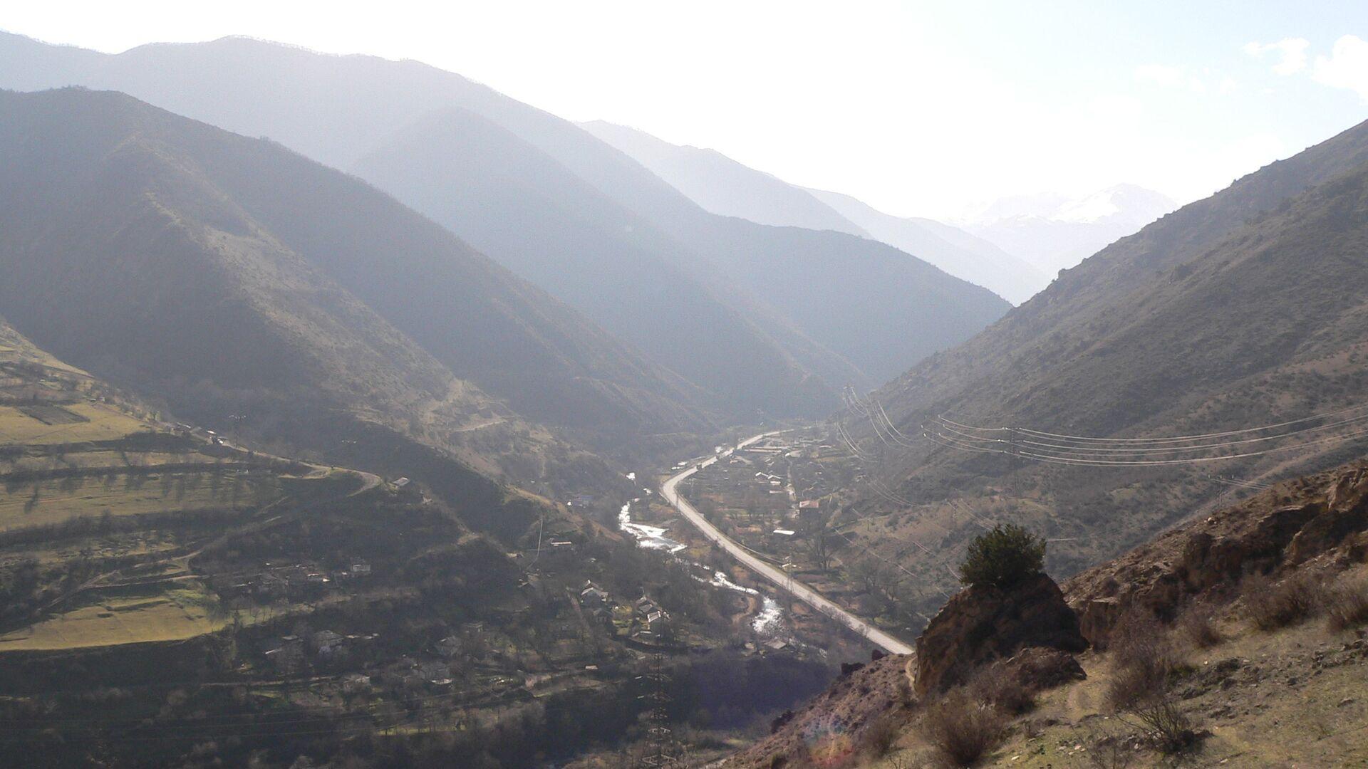 Widok regionu Road Syunik Azerbejdżan Armenia - Sputnik Polska, 1920, 29.07.2021