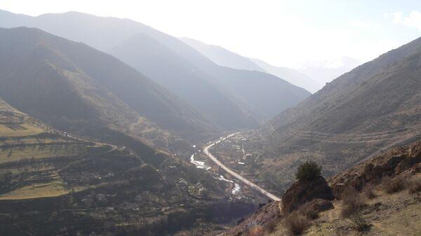 Widok regionu Road Syunik Azerbejdżan Armenia - Sputnik Polska