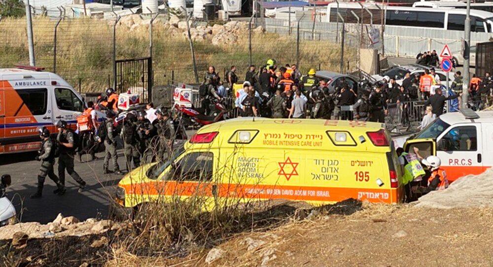 Do próby celowego najechania na policjantów doszło w dzielnicy Szejka Jarrah w Jerozolimie.