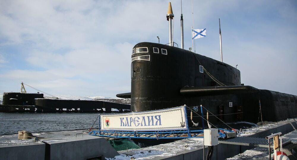 Okręty podwodne projektu 667BDRM.