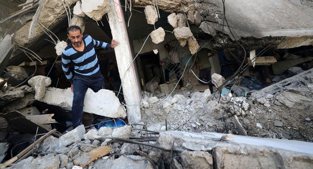 Konsekwencje izraelskich nalotów na Strefę Gazy.