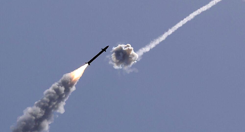 Izrael przechwycił rakietę wystrzeloną ze Strefy Gazy