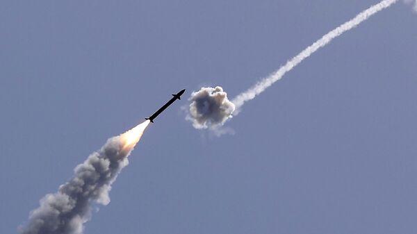 Izrael przechwycił rakietę wystrzeloną ze Strefy Gazy - Sputnik Polska