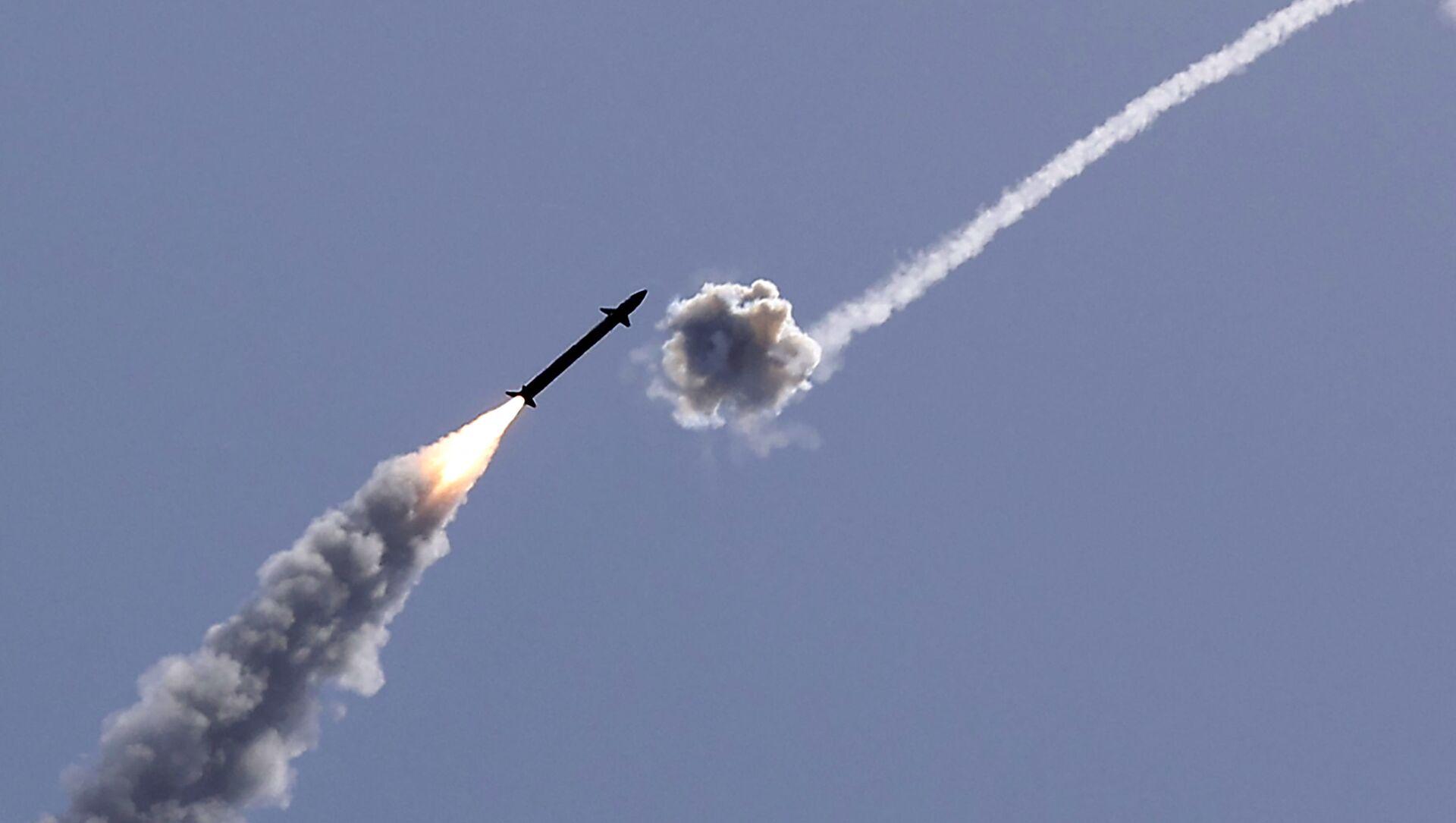 Izrael przechwycił rakietę wystrzeloną ze Strefy Gazy - Sputnik Polska, 1920, 19.05.2021