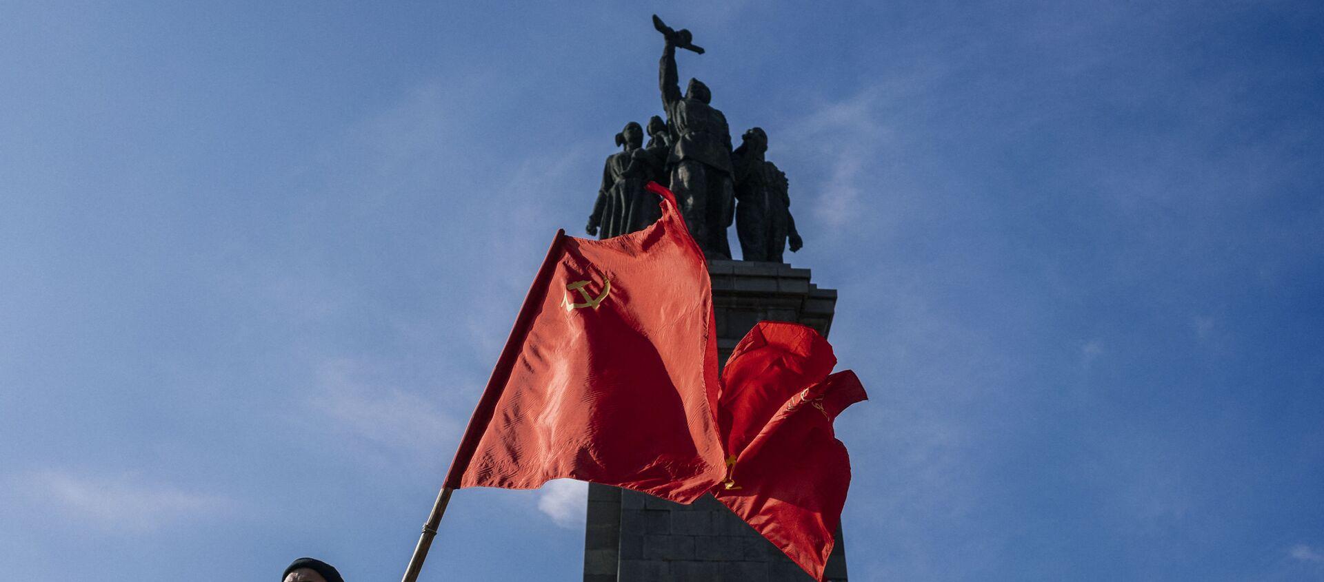 Pomnik Armii Czerwonej w Bułgarii - Sputnik Polska, 1920, 17.05.2021
