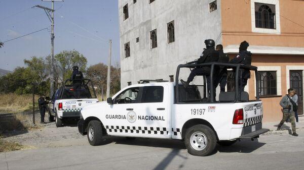 Policja Gwardii Narodowej Meksyku - Sputnik Polska