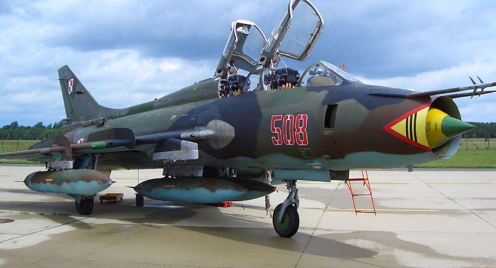 Su-22UM3K w składzie sił powietrznych Polski