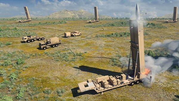 Amerykańska broń hipersoniczna dalekiego zasięgu - Sputnik Polska