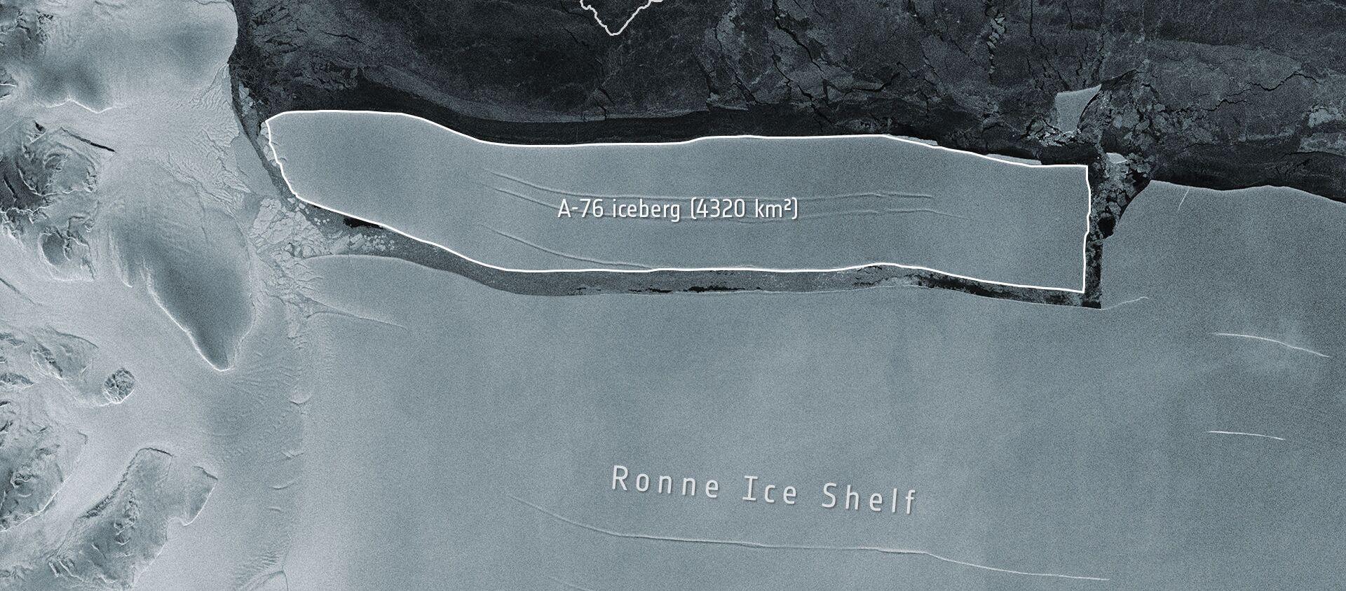 Góra lodowa A-76 - Sputnik Polska, 1920, 20.05.2021