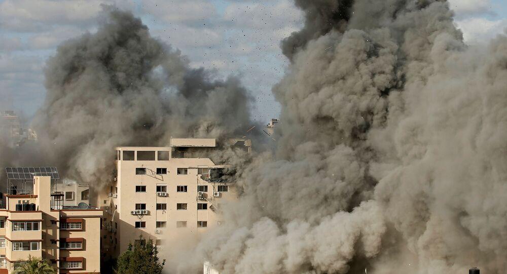 Atak powietrzny Izraela na Gazę