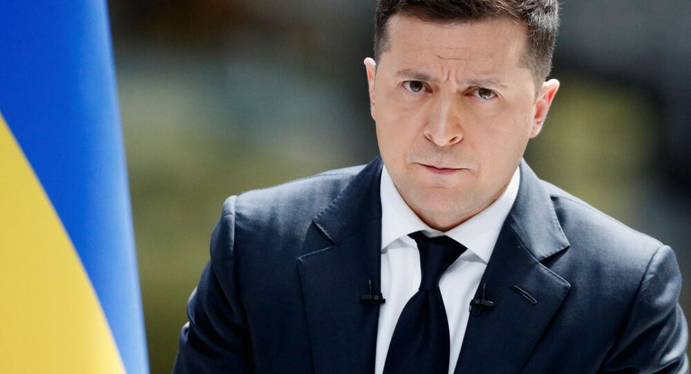 Prezydent Ukrainy Wołodymyr Zełenski
