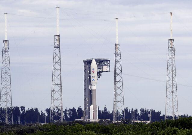 Rakieta United Launch Alliance Atlas V przed startem