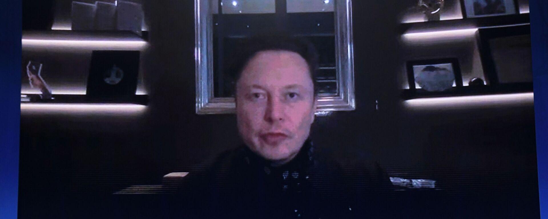 Elon Musk. - Sputnik Polska, 1920, 22.05.2021