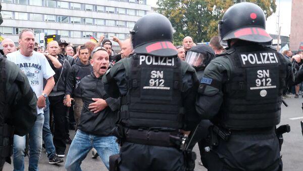Protesty w Niemczech - Sputnik Polska