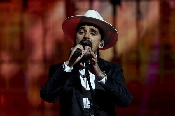 Portugalski zespół  The Black Mamba podczas finału 65. Konkursu Piosenki Eurowizji w Rotterdamie - Sputnik Polska