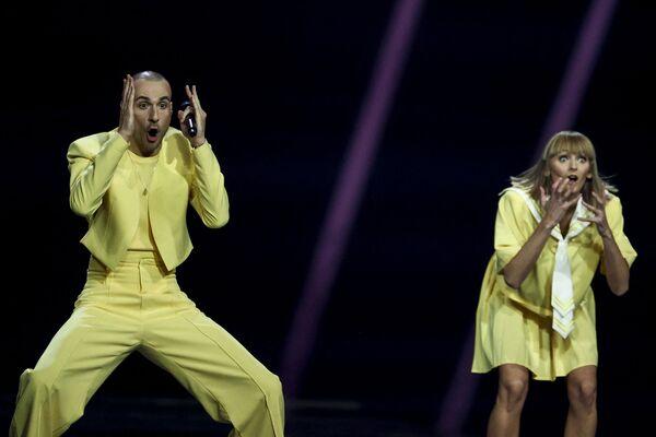 Zespół The Roop podczas finału 65. Konkursu Piosenki Eurowizji w Rotterdamie - Sputnik Polska