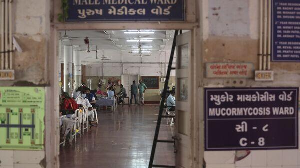 Szpital państwowy w Ahmadabadzie, Indie. - Sputnik Polska